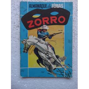 Almanaque De Férias Zorro! Ebal Jul 1973!