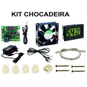 Kit Chocadeira Termostato+fonte+resistencia+cabo+medidor