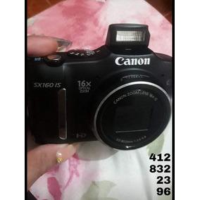 Camara Digital Fotografica Canon Sx160 Semiprofesional Usada