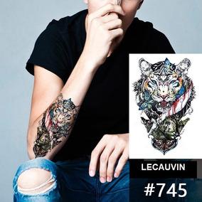2 Tatuagem Temporária...novos Modelos Leão / Tigre Confira !