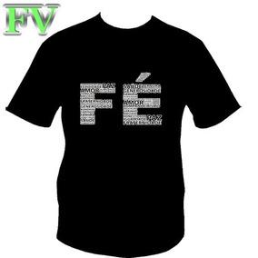 Camisa Camiseta Gospel Fé Esse É O Caminho Até O Pai Creia 1 · 2 cores 7f5ec7a2ff846