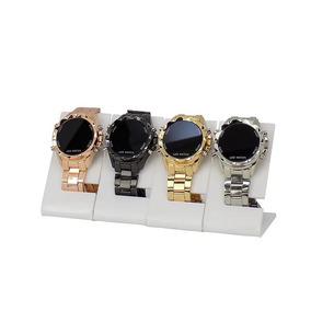 Kit 4 Relógio Feminino Original Orizom Led Dourado Prata