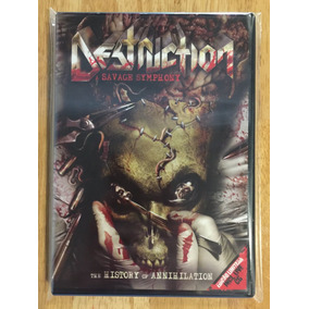 Dvd + Cd Destruction A Savage Symphony The History (2010)
