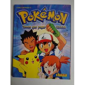 Album De Figurinhas Pokemon Nº 2 Semicompleto