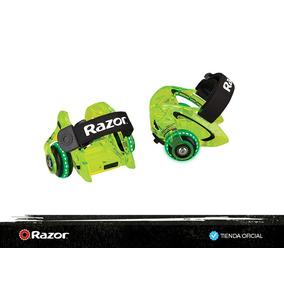 Patin De 2 Ruedas Con Luces Razor -jet Heel Wheel Dlx - Neon