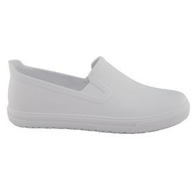 44601abe33 Sapato Branco Com Salto Enfermagem Feminino - Sapatos em Bahia no ...