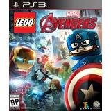Lego Marvel Avengers Ps3 Digital Gcp