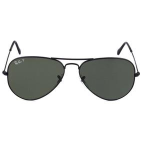 282443fef784e Oculos De Sol Rayban Lente Polarizada Estilo Aviador +brind