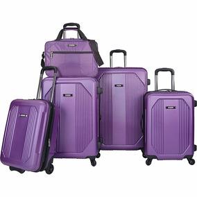 Set Equipaje U.s. Traveler Bloomington 5 Pzs Maletas Rigidas