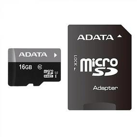 Cartão Memória Micro Sd A-data 16gb + 1 Adaptador Class 10