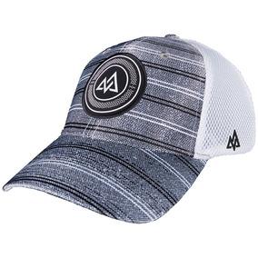 Tri Flex Patch Hat Grey Stripe