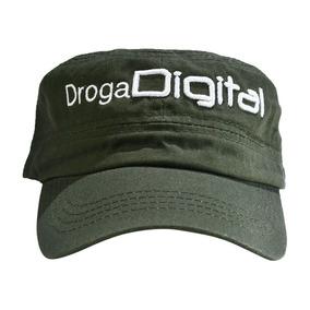 Gorra Cubana Verde Droga Digital La Revolucion Del Hardware 0649566af76
