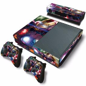 Adesivo Skin Xbox One - Iron Man Action -console E Controles