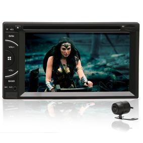 Central Multimídia Universal Mp5 C/ Dvd Espelhamento Android