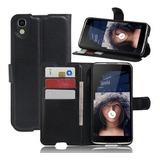Capa Case Flip Carteira Alcatel One Touch Idol 4 Tela De 5.2