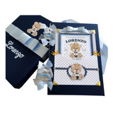 Álbum Livro Bebê Fotos Urso Príncipe Personalizado