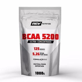 Bcaa 5200 Em Pó - 1000g - Rev Nutrition (sabor Limão)
