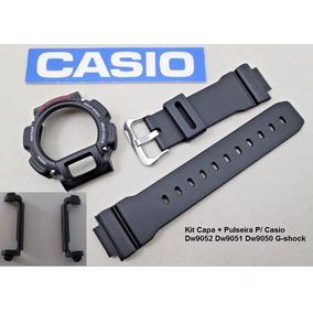 ba495702b59 Kit Capa Pulseira Casio G Shock Dw 9052 - Relógios no Mercado Livre ...