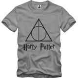 Camisa Camiseta Harry Potter Relíquias Da Morte