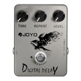 Pedal Guitarra Joyo Jf 08 Digital Delay Prata Garantia