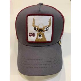 Gorra Goorin Bros Original Buck Fever Gris Ciervo