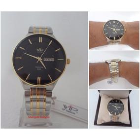 Relógio Masculino Vip Mh6321 Slim Original 12 X Sem Juros