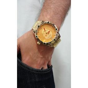c2ff8168cd4 Relogio Prata Masculino Grande Barato - Relógios no Mercado Livre Brasil