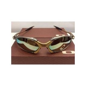 Óculos Oakley Metal Squared 24k Juliet Double X Romeo 1 Gold. R  230 f570c67749