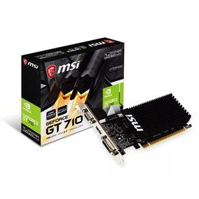 Placa De Vídeo Nvidia Geforce Gt 710 Low Profile 1gb Ddr3 Pc