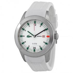 Relógio Pulso Lacoste Masculino Advantage Branco 42mm
