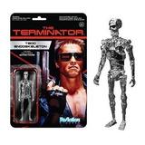 Funko Reaction Terminator T800 Endoskeleton Cromo 3 3/4
