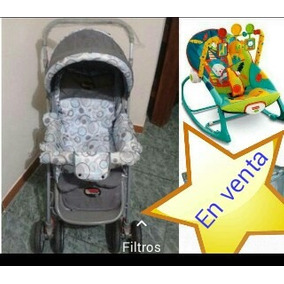 Coche Pocholin Y Silla Fisher