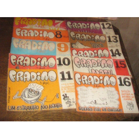 Revista Fradim Henfil Lote 10 Edições 1978