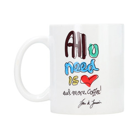 Taza En Cerámica Dream Big - Modelo All Need You Love