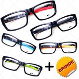 531ebd0b88dfb Oculos Masculino Esportivo Armação Para Grau Várias Cores