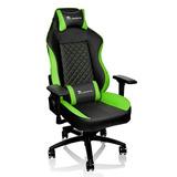 Silla Gamer Thermaltake Tt Esports Gtc500 Negra Verde Htg2