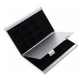 2 Porta Micro Sd Aluminio Para 24 Micro Sd + Envio Gratis