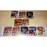 Pack De 5 Etiquetas (labels) Nintendo 64, Snes, Nes, Y Mas!