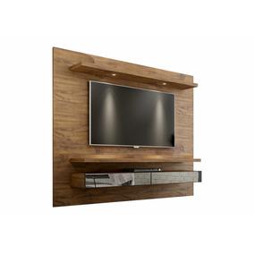Painel Home Suspenso Grande 220cm C/ Led E Espelho Tb108e -