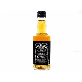 Jack Daniels Mini 10 Garrafas 50 Ml Cada Vidro