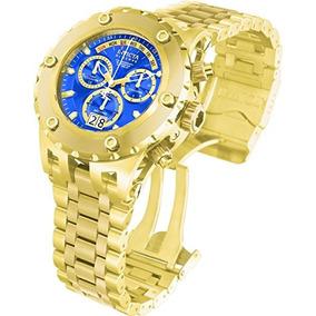 de8b2cc671f Invicta Men s 1567 Reserve Chronograph Blue Dial Oro 18k Ion
