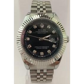 b2c1c0ec1fa Relógio Rolex Prata Fundo Preto - Relógios De Pulso no Mercado Livre ...