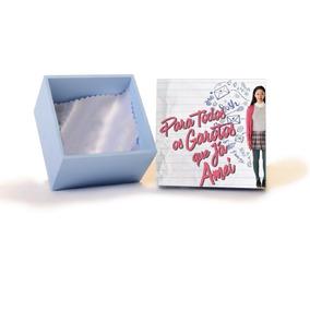 Porta Carta Para Todos Os Garotos Que Amei 15x15x3cm Mdf