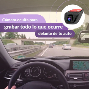 Cámara Oculta Vehicular Dash Full Hd1080p Emite Wifi Celular