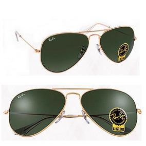 436611ed9aaec Ray Ban Aviador Verde Degrade - Óculos no Mercado Livre Brasil