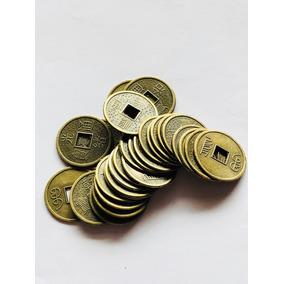 ff3567ff4ba5 3 Monedas Chinas De La Fortuna Diametro 2.5 Cm Suerte !
