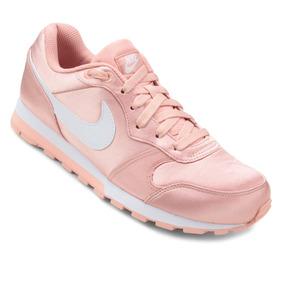Tênis Feminino Nike Md Runner 2 Coral Original 749869-603