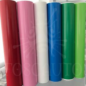 Adesivo Decorativo Envelopamento Porta Geladeira Móveis - 1m