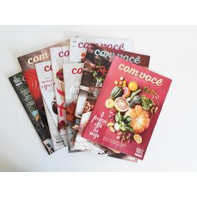 Kit 9 Revistas Nestlé Com Você De Receitas E Gastronomia