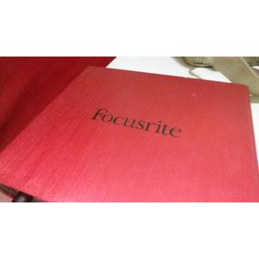 Placa De Som Focusrite 6i6 Com Eliminador Original